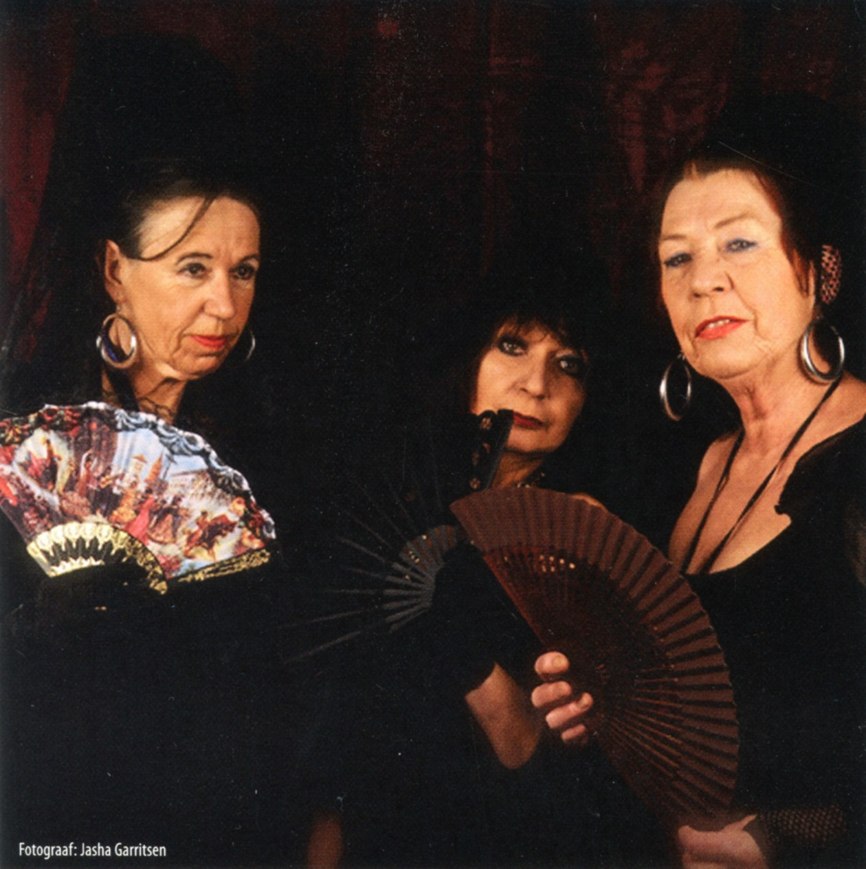 "drie""Spaanse"" dames"
